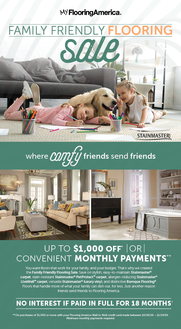 Family Friendly Flooring Sale
